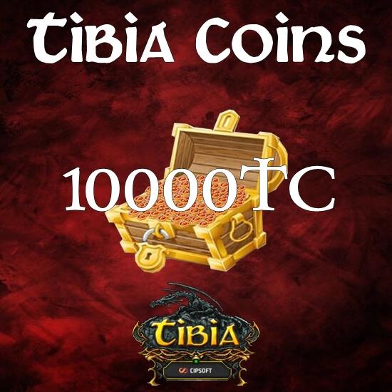 10000 Tibia Coins