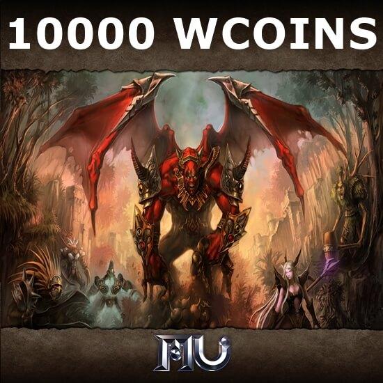 Mu Online - 10000 WCoins