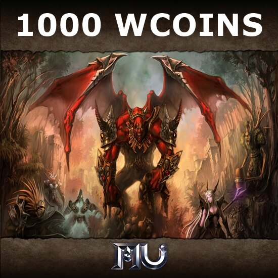 Mu Online - 1000 WCoins