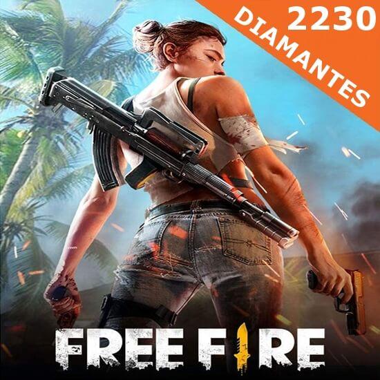 Free Fire - 2230 Diamantes
