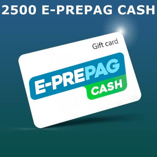 E-Prepag - 2500 Cash