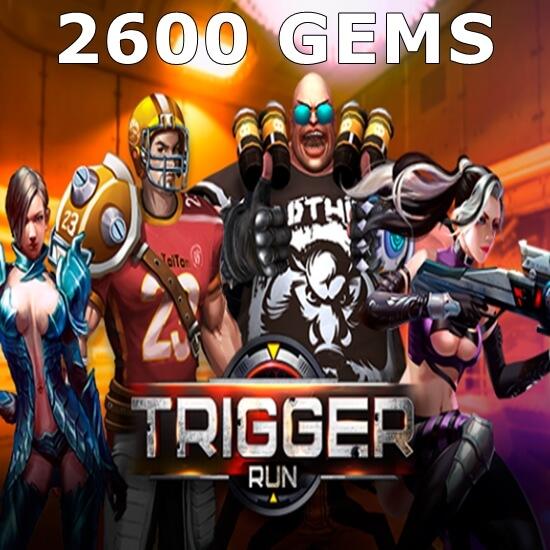 Trigger Run - 2600 Gems