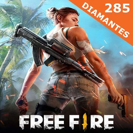Free Fire - 285 Diamantes
