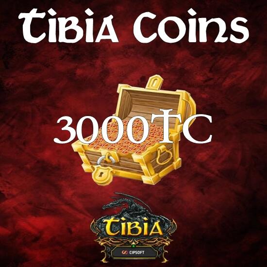 3000 Tibia Coins
