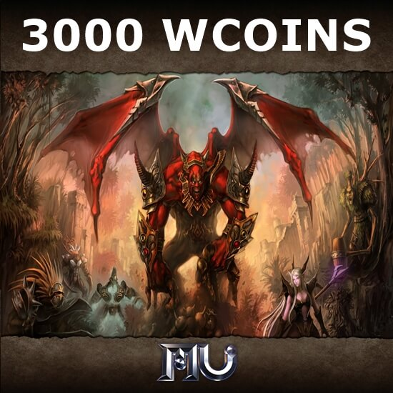 Mu Online - 3000 WCoins
