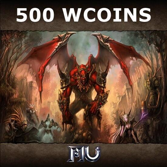 Mu Online - 500 WCoins