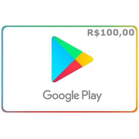 R$100 Google Play