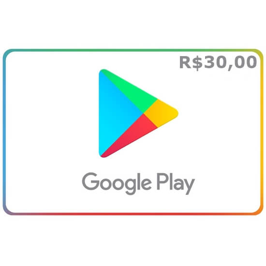 R$30 Google Play
