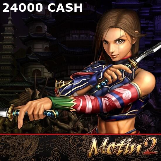 Metin 2 - 24000 CASH