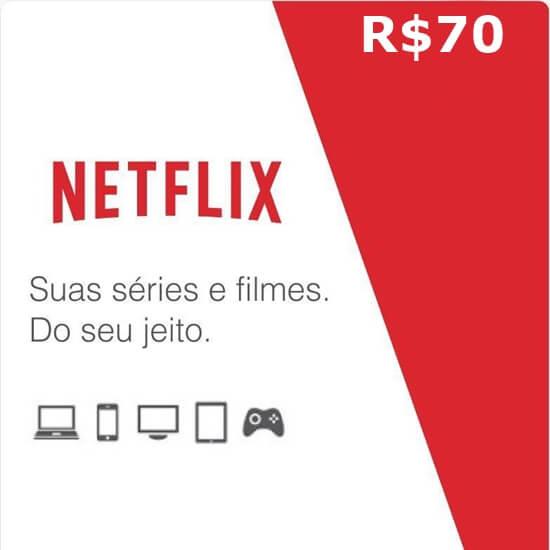 R$70 Netflix