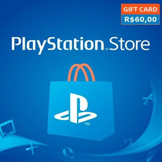 R$60 PlayStation Brasil