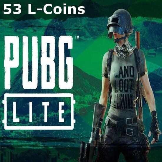 PUBG Lite - 53 L-Coins