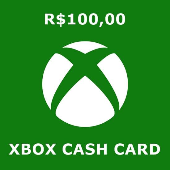 R$100 Xbox Cash Card