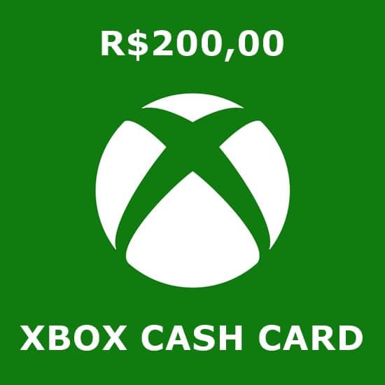 R$200 Xbox Cash Card