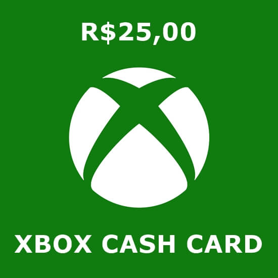 R$25 Xbox Cash Card