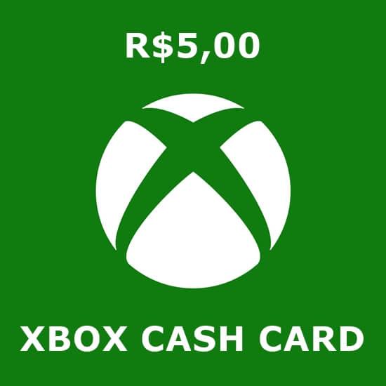 R$5 Xbox Cash Card