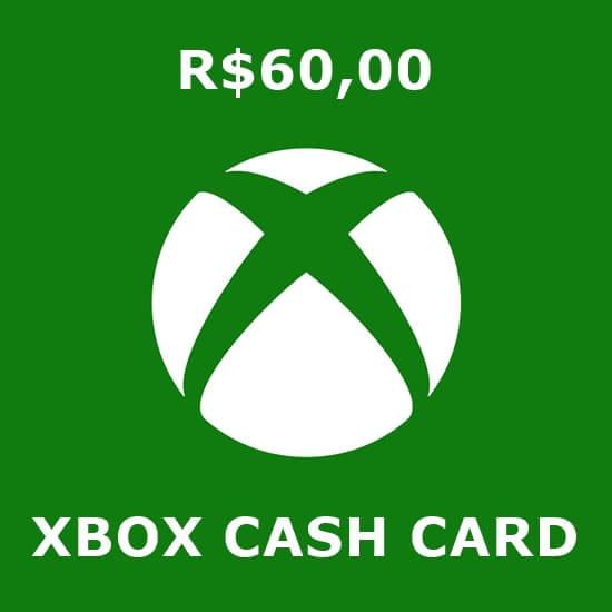 R$60 Xbox Cash Card