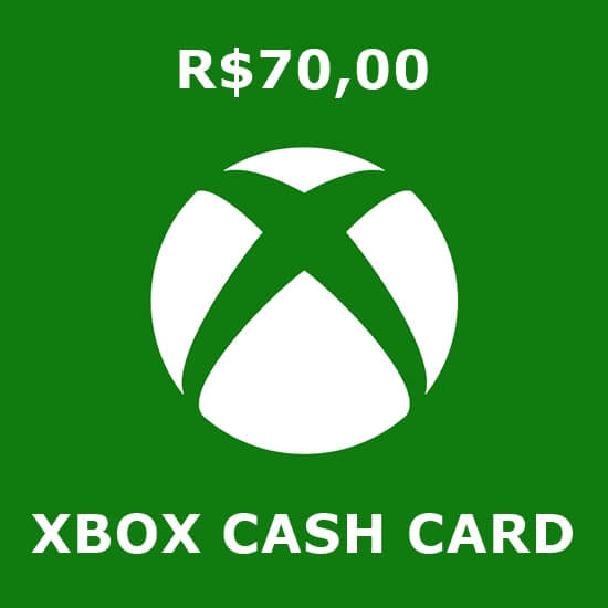 R$70 Xbox Cash Card